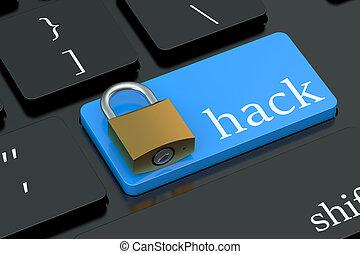 Hack keyboard button