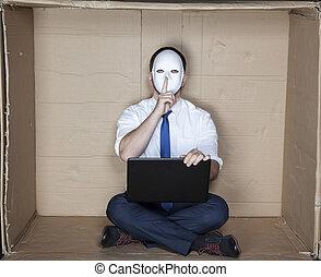 hacker asks for silence