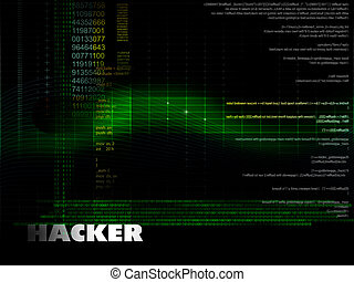 Hacker - Creative illustration