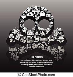 hacker, manifesto, cranio