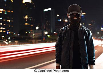 hacker, på streeten