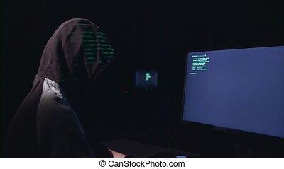 Hacker programs programs for hacking sites - Guy in the hood...