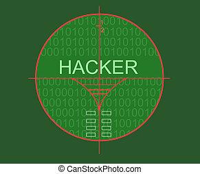 Hacker target madde in 2d software