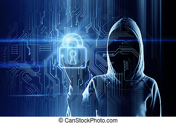 Hacking and safety concept