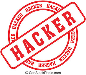 hacker word stamp7