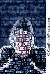 hacker, zensiert