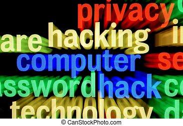 hacking, computer