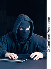 Hacking into computer