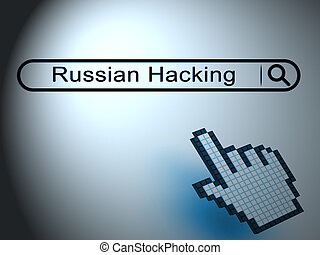 Hacking Screen Cyber Data Breach 2d Illustration Shows...