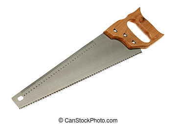 hack saw. hacksaw is isolated on a white background hack saw
