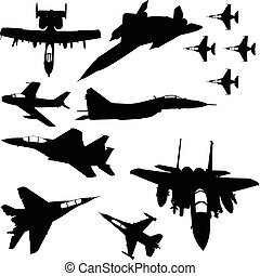 hadi, repülőgépek