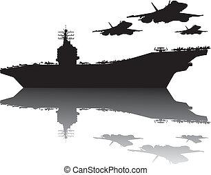 haditengerészet, erő