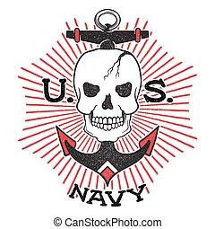 haditengerészet, izbogis, öreg, bennünket, design.