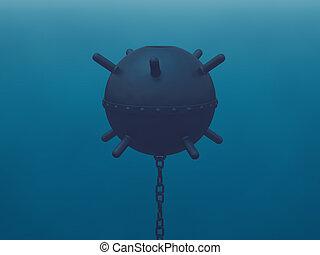 haditengerészeti, akna