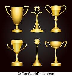 hadizsákmány, bajnokság, gold csésze, nyertes, állhatatos