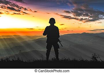 hadsereg, csendőrök
