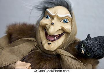 Hag with tomcat