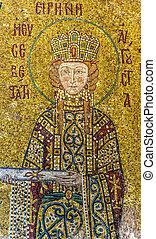 Hagia Sofia mosaic 06 - The mosaics that adorn the hagia...