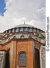 Hagia Sofia Mosque at Istanbul