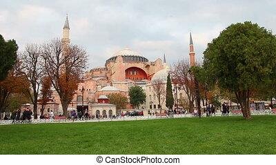 hagia sofia museum in istanbul turkey