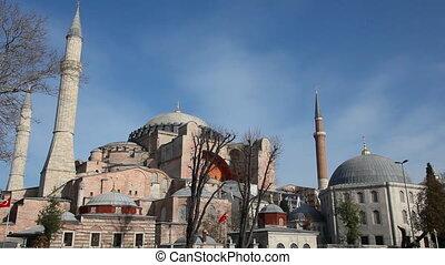 Hagia Sophia Scene, shooting Canon 5D Mark II