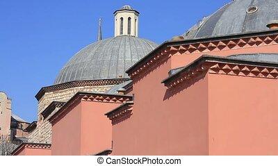 Hagia Sophia and Haseki Hamami - Panoramic view of Hagia...