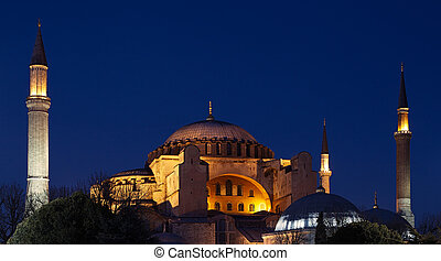 Hagia Sophia (Ayasofya) in Istanbul, Turkey