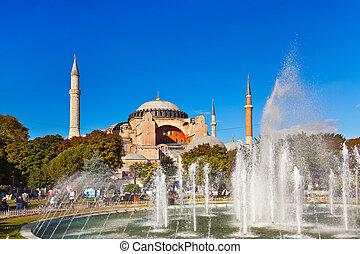 Hagia Sophia in Istanbul Turkey - architecture religion...