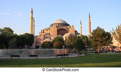 Hagia Sophia, Istanbul - Hagia Sophia Museum at Sultanahmet...
