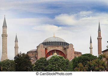 Hagia Sophia Mosque in Istanbul, Turkey