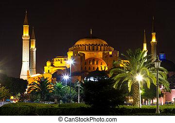 Hagia Sophia museum from Istanbul, turkey