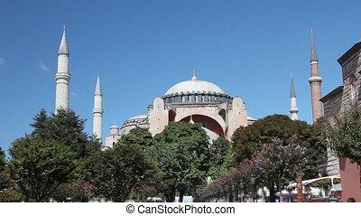 Hagia Sophia Scene at Istanbul City, shoot Canon 5D Mark II