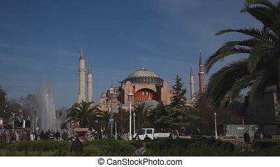 Hagia Sophia Scene, shooting Canon 5D MarkII