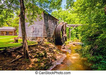 Hagood Mill Historic Site in pickens, south carolina