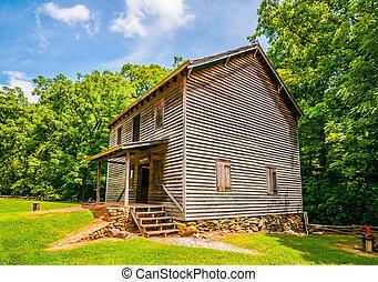 Hagood Mill Historic Site in south carolina