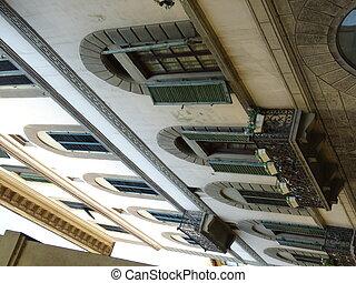 hagyományos építészet, olasz