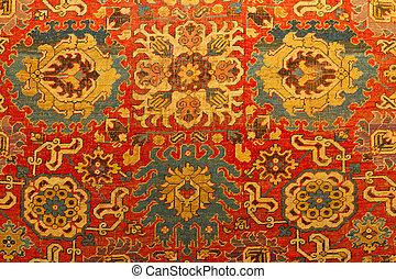 hagyományos, török, szőnyeg