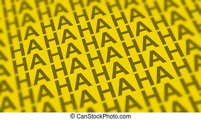 Haha Yellow DOF Looping Background