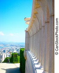 haifa, israel, templo, bahai