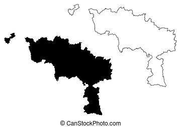 Hainaut Province (Kingdom of Belgium, Provinces of Belgium, ...