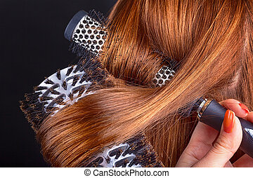 Hair and comb