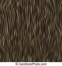Hair Background - Realistic Bitmap Illustration of Human...