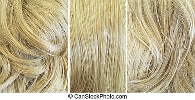 hair before and after alignment