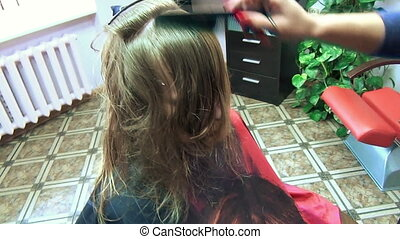hair blond cut