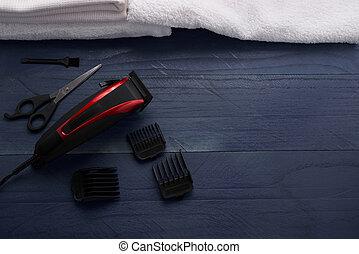Hair Clipper in the salon