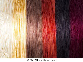 Hair Colors Palette