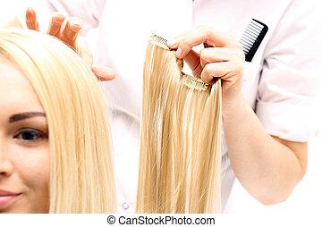 Hair compaction