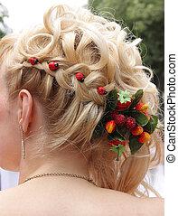 hair dress - romantic hair dress