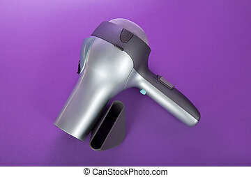 Hair dryer - The hair dryer for drying of hair and...