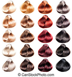 Hair Palette samples